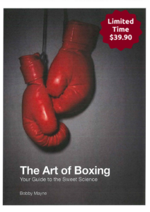 the art of boxing limited time $39.90